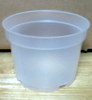 Natural Plastic Pot 5""