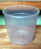 Clear Round Plastic Pot 4.5""