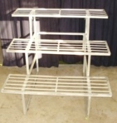 "GREEN BARN ORCHID BENCH - 36""  3 tiered"
