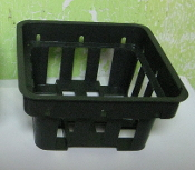 "Plastic Vanda Orchid Basket 3.2"" SPECIAL LOWER PRICE"