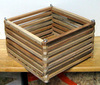 "8"" Square Mahogany Orchid Basket OUT OF STOCK"