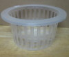 Translucent net pot 6.5 inch