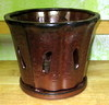 "C-LOTUS-41 COPPER 7"" X 6"" HIGH"