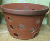 "Rustic Clay Pot 8.5"" smooth finish"