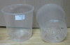 Clear Round Plastic Pot 3.5""