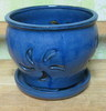 "D-LOTUS-9 Blue 7"" x 6"" high"