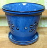 "D-LOTUS-11 Blue 6"" x 6"" high"