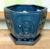 "D-LOTUS10-Teal 6"" x 6"" high OUT OF STOCK"