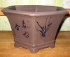 "Bonsai  B-8  Bonsai Pot 8"" x 8"" x 5"""