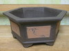 "Bonsai B-10  Bonsai Pot 8.5"" x 8.5"" x 3"""