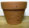 Air Flo Clay pot with holes - 6""