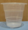 "Crystal-Air 4"" heavy duty clear plastic pot"