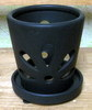 "K-LOTUS15 black matte mini petals 3.5"" x 4"" high OUT OF STOCK"